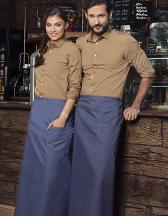 Bistro Apron Jeans-Style With Pocket