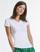 Ladies´ Pure Organic V-Neck Tee