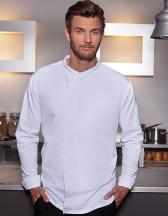 Long-Sleeve Throw-Over Chef Shirt Basic