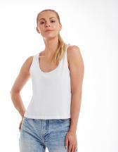 Women`s Organic Crop Vest
